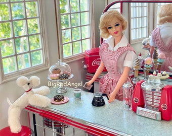 Vintage Barbie Doggie Diner Fine Art Photo