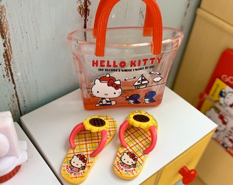 Hello Kitty Beach Bag & Sandals 6th Scale Skipper Size