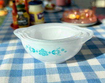 Pyrex Bowls Set of Three Barbie Size 6th Scale