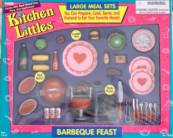 Kitchen Littles Barbeque Feast 6th Scale Barbie Size