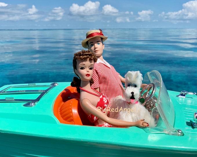 Featured listing image: Vintage Barbie & Ken Boating Fine Art Photograph