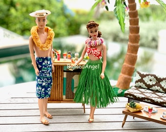 Barbie & Ken Tiki Bar Love Fine Art Photograph