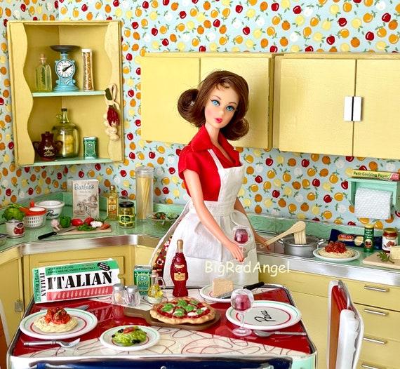 Vintage Barbie Italian Dinner