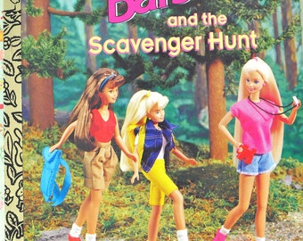 Barbie & the Scavenger Hunt First Edition Mint Unused