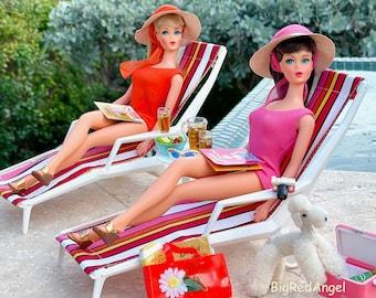 Vintage Barbie In The Swim Fine Art Photograph