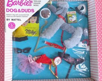 Vintage Barbie Dogs N Duds NRFB