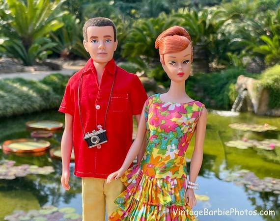 Vintage Barbie & Ken Garden Tour