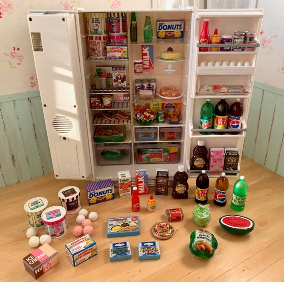 Barbie Doll 1:6 Kitchen Food Carton of Milk