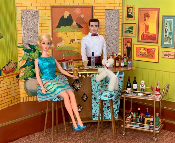 Barbie & Ken Cocktail Hour