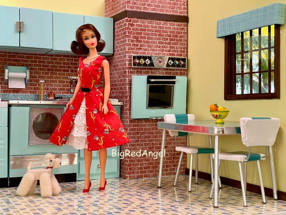 Barbie Retro Kitchen