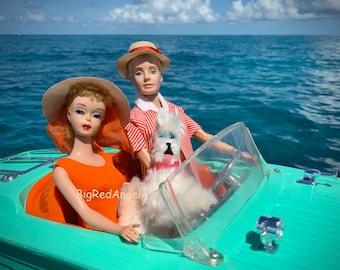 Barbie & Ken Key West Boating Fun Fine Art Photograph