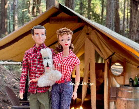 Barbie & Ken Glamping in Big Sur