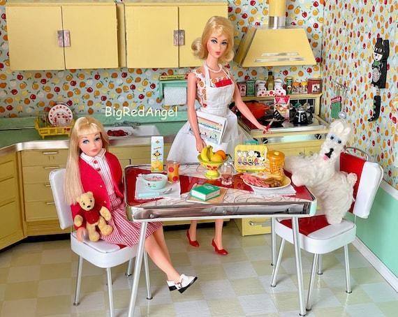Barbie School Day Morning