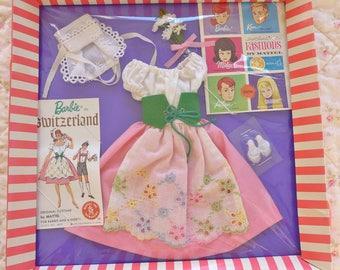 Vintage Barbie In Switzerland #0822