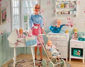 Vintage Barbie The Baby Sitter Fine Art Photograph