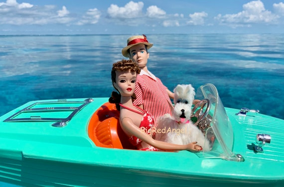 Barbie & Ken Boating