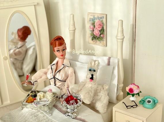 Vintage Barbie Breakfast in Bed
