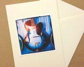Gretsch Electric Guitar Blank Greeting Card