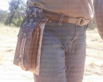 Belt Bag Sewing Pattern- Digital Download.  Vegan and Cruelty Free. waist, fanny pack, leg, purse, boho