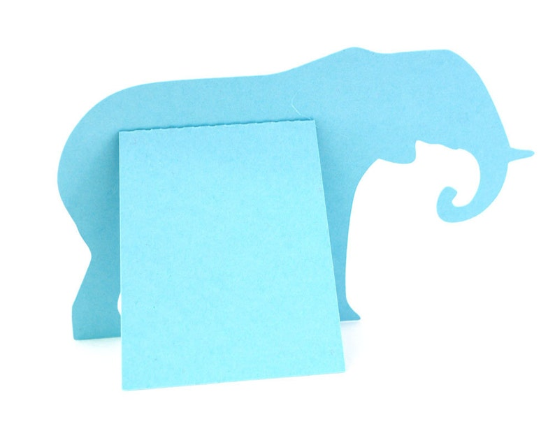 Elephant party wedding table numbers reception Elephant Table Numbers Set of 10 Choose colors banquet