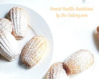 Petit Vanilla Madeleine Cakes