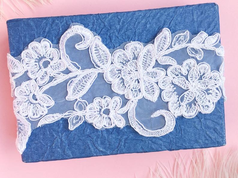 Wedding garter Bridal lace garter Bridal Floral lace garter white Boho garter Elegant garter Keepsake garter Rustic lace garter