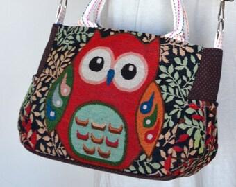 53f8b367ccd Vintage Hippie Style Handbag Owl Crossbody Bag Boho Hobo Bag Shoulder Bag  Sling Messenger Bag Chic Purse, Hooty Hoot