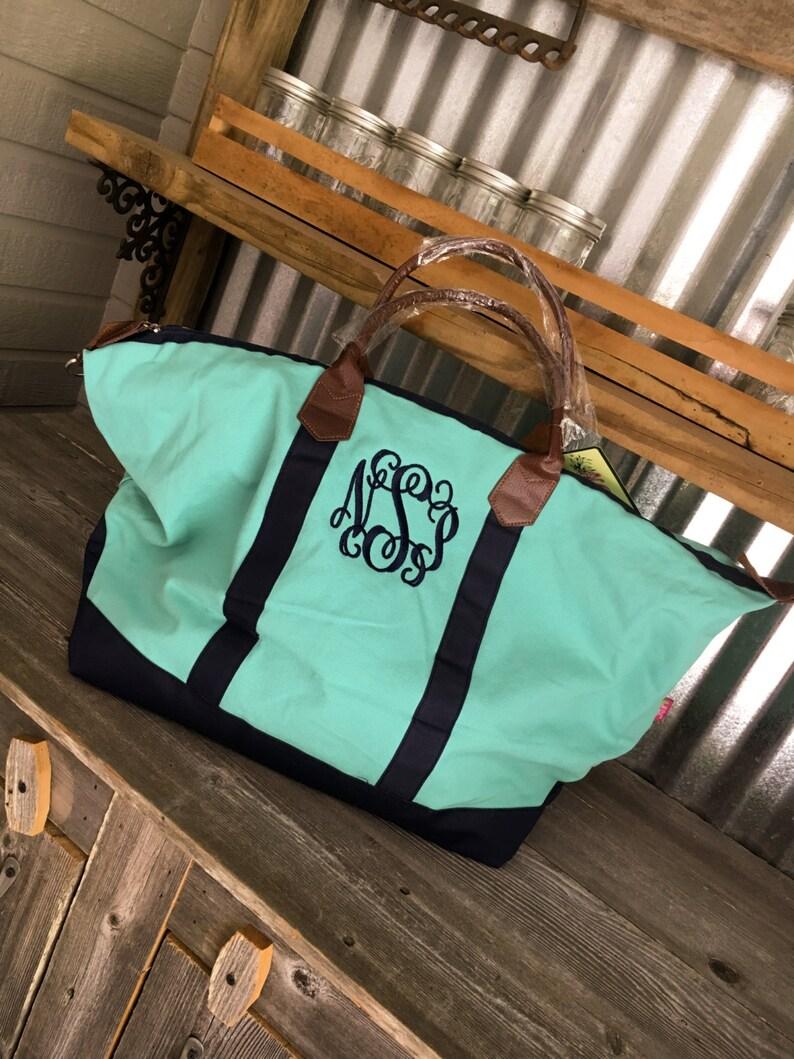 CLOSEOUT SALEToteWeekender BagColorblock Weekender Bag with Monogram
