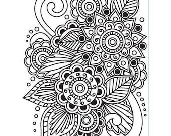 Darice Embossing Folder - Henna - 1218-28