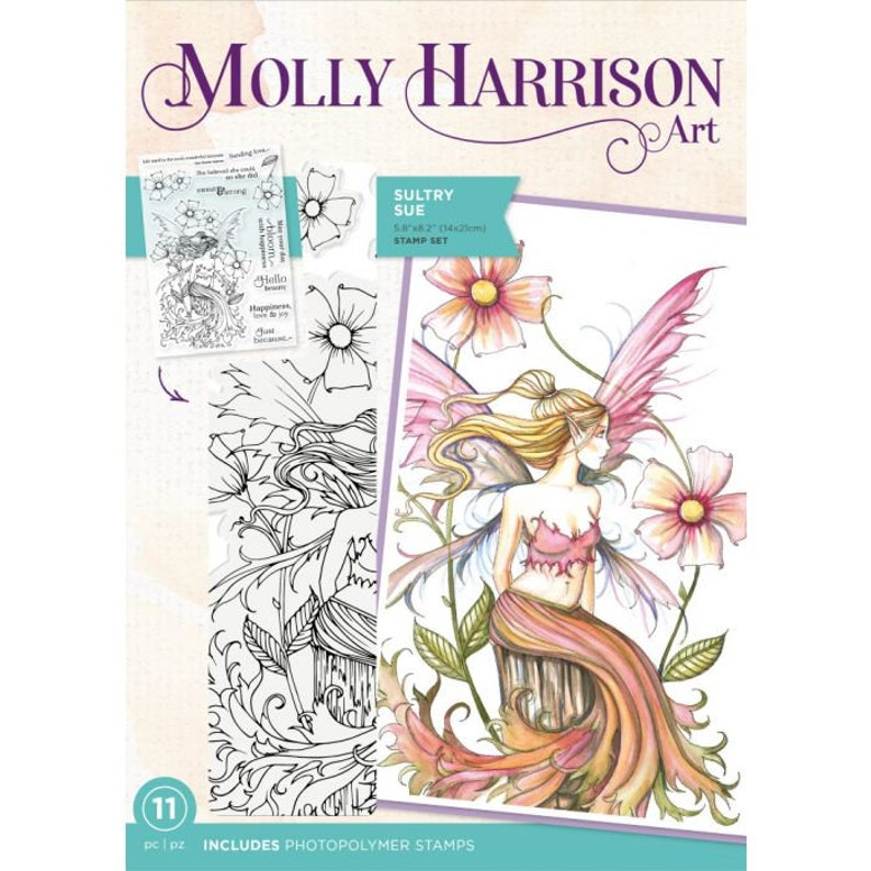 Molly Harrison Stamp Sultry Sue