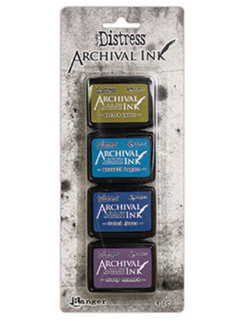 Tim Holtz Distress Mini Archival Ink Kit #2