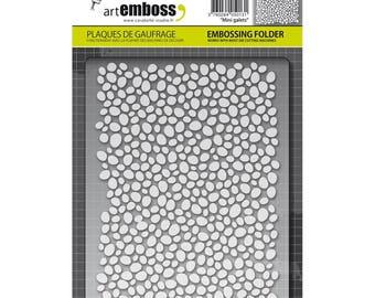 Carabell Studio ArtEmboss Embossing A2 Folder - Mini Galets