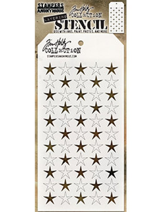 Tim Holtz Layering Stencil ~ TRACKS ~ THS044 ~ Stampers Anonymous
