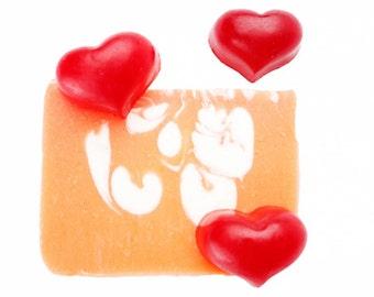 Love Soap, Kids Soap, Soap for Kids, Fun Soap, Soap Loaf, Soap Loaves, Natural Soap Handmade, Organic Soap, Soap Samples, Cold Process Soap