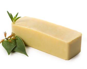 Aloe Vera Soap Loaf FREE SHIPPING, Aloe Vera Shampoo Bar, Organic Soap, Unscented Soap, Natural Soap, Homemade Soap Bulk, Wholesale Soap Bar