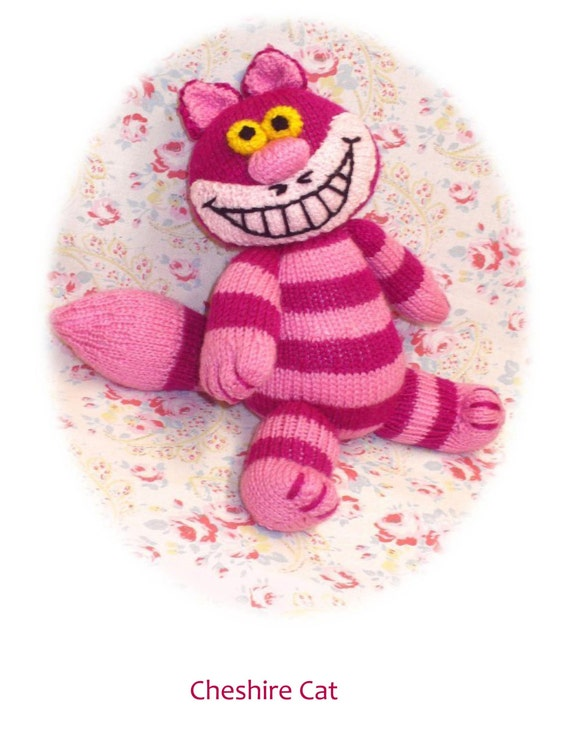 Cheshire cat amigurumi crochet doll Alice in wonderland | Etsy | 751x570
