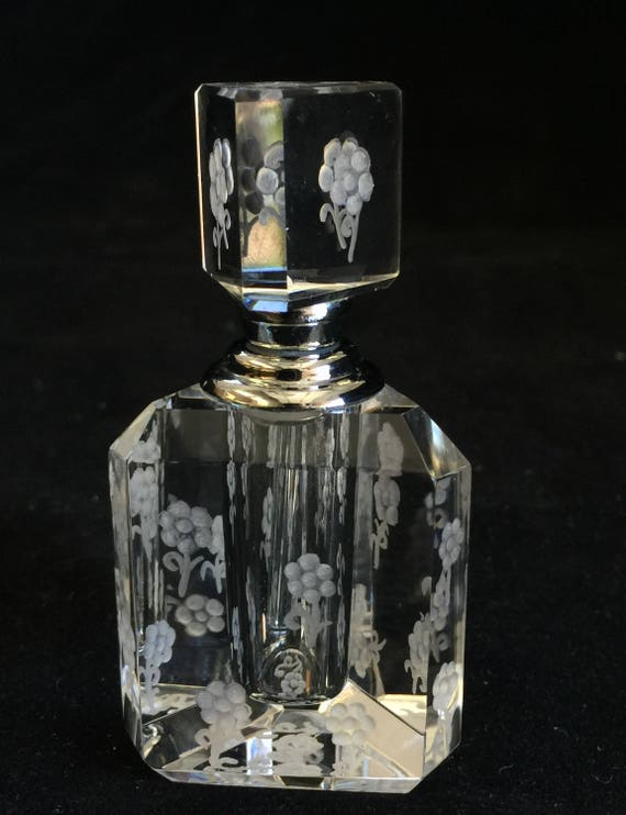 Crystal Mini Perfume Bottle Mini flowers
