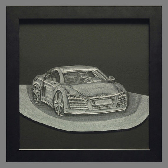 Hand engraved Audi, engraved cars, auto personalized, customized cars, home decor, office decor, retirement gifts, wedding gifts