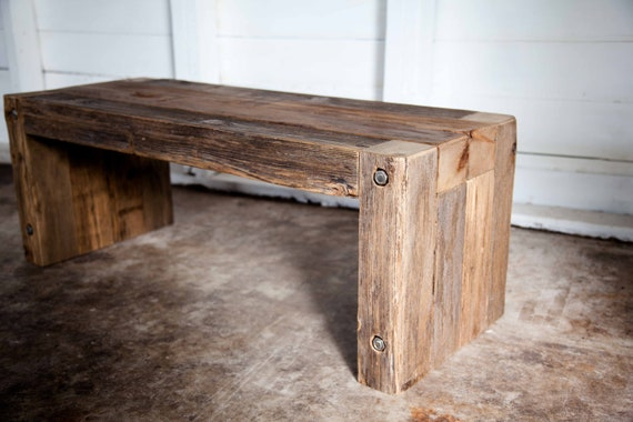 Groovy Vintage Wood Parsons Coffee Table Entry Bench Camellatalisay Diy Chair Ideas Camellatalisaycom