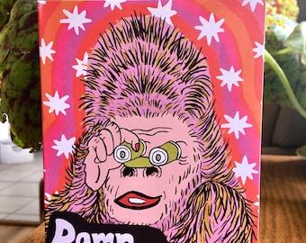 You Fine Gorilla Card