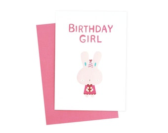 Birthday Girl Card