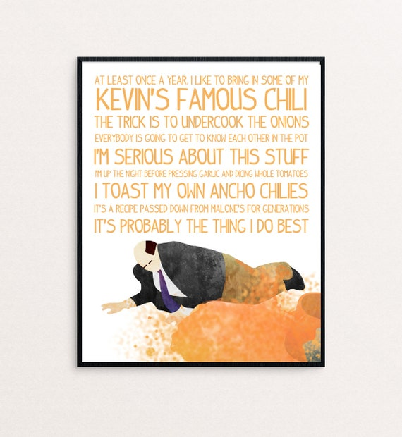 The Office Kevin Malone I Like To Bring In Some Of Etsy