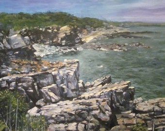 Granite Cliffs along Marginal Way, Ogunquit, Maine