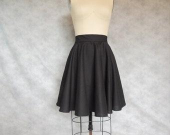 fef96b1ace Black Circle Skirt - Full