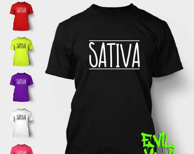 Marijuana Sativa T-Shirt