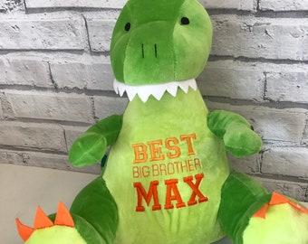 1da85fe0fa1 Big Brother personalised keepsake. Personalised Dinosaur