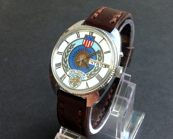 Soviet watch ,NOS watch ,USA VICTORIA Watch, Russi