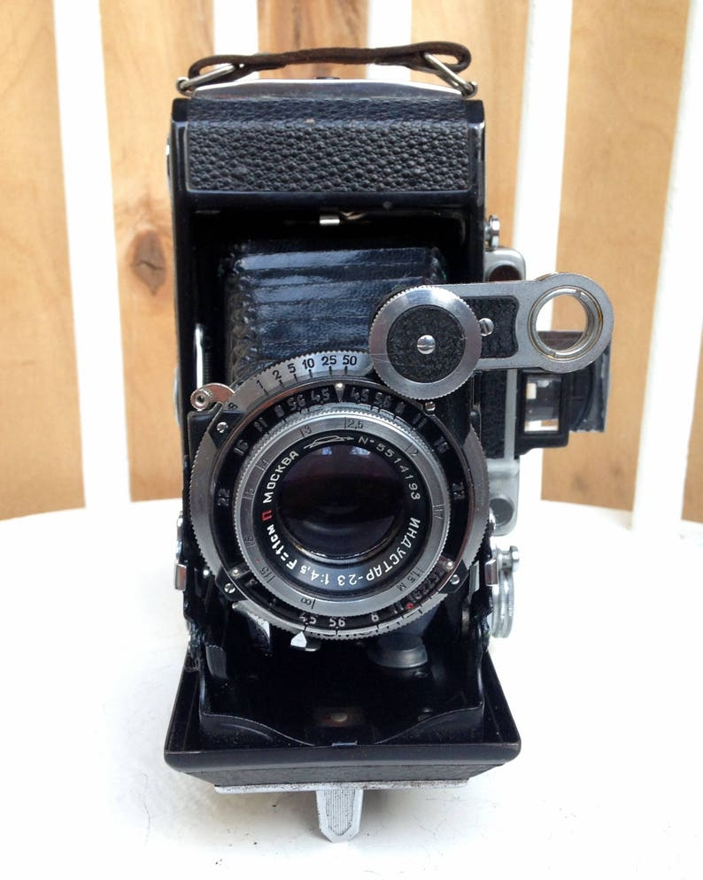 Soviet Camera Russian Camera Working camera USSR camera Vintage camera Moscow-5