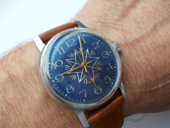 "Soviet watch - ""Pobeda"", Russian watch, Vintage Wa"