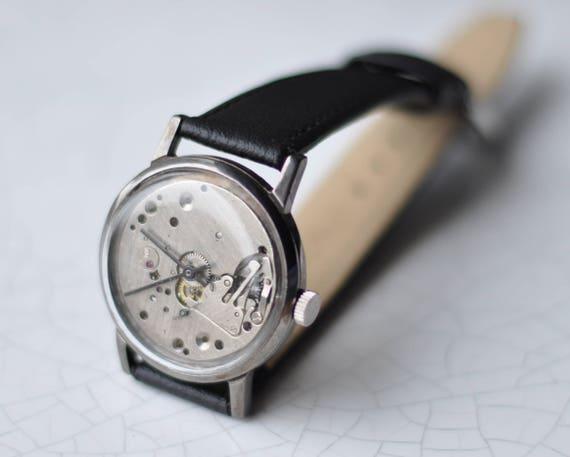 "Skeleton Watch ""Pobeda"" - Vintage Watch"